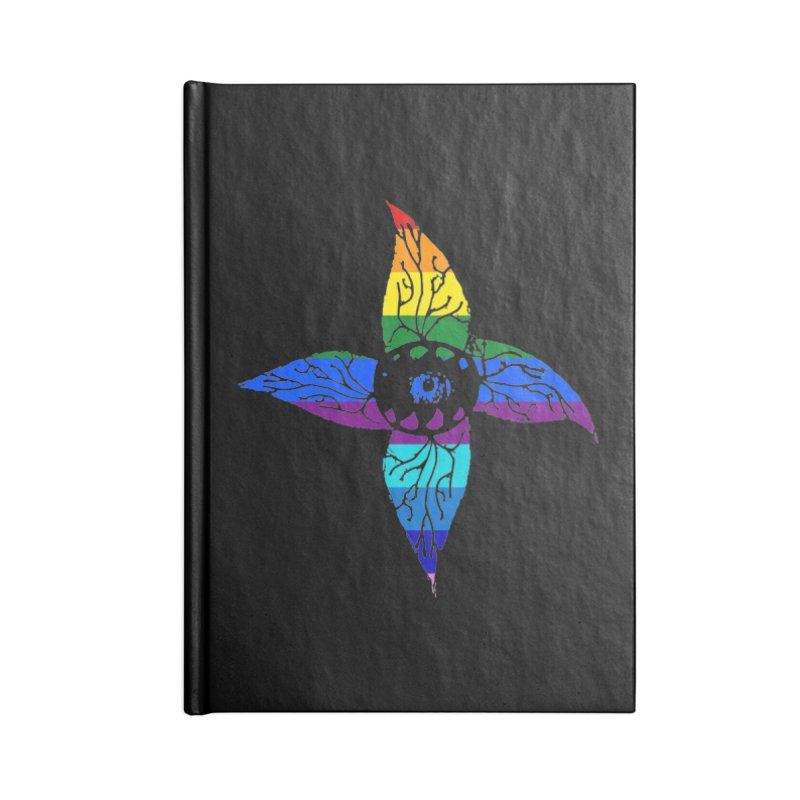 Rainbow Pride Accessories Notebook by Deadlight Holiday's Artist Shop