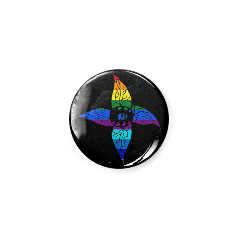 Rainbow Pride Accessories Button by Deadlight Holiday's Artist Shop