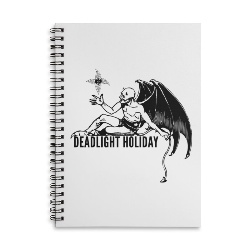 S.A.T.A.N Accessories Notebook by Deadlight Holiday's Artist Shop