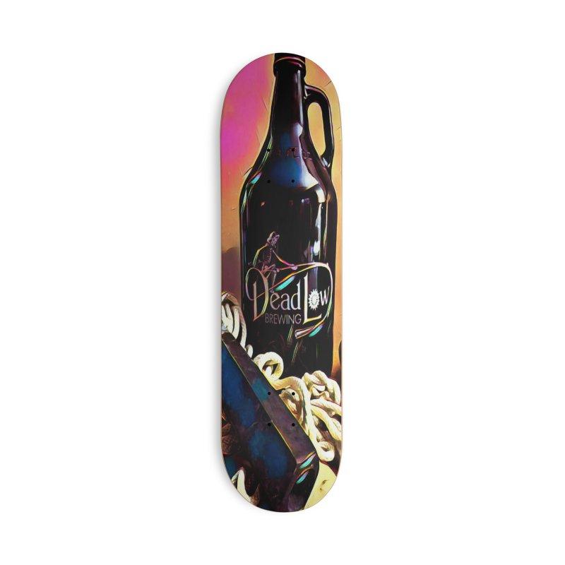 DLB Growler Art Accessories Deck Only Skateboard by deadlow's Artist Shop