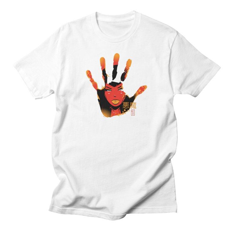 Demon Devil Girl Hand Men's T-Shirt by Dead Pop Hell Shop