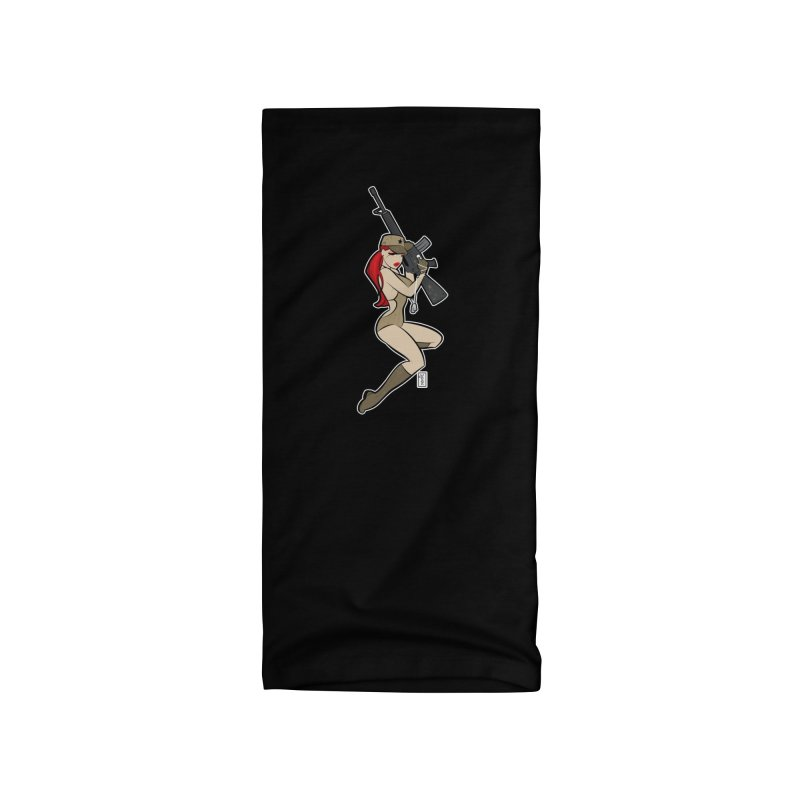 AK-A Dead Sexy Military Pinup Accessories Neck Gaiter by Dead Pop Hell Shop
