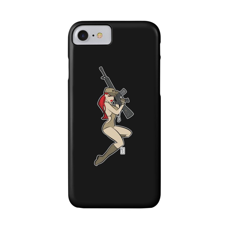 AK-A Dead Sexy Military Pinup Accessories Phone Case by Dead Pop Hell Shop