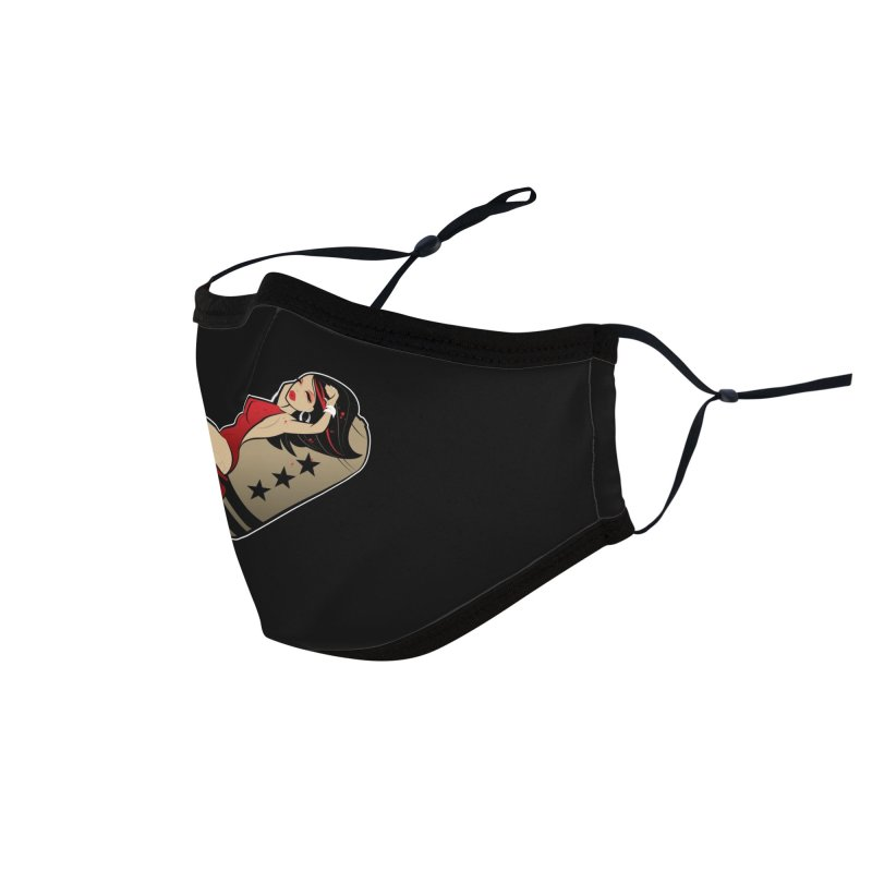 DOA Military Pinup Accessories Face Mask by Dead Pop Hell Shop