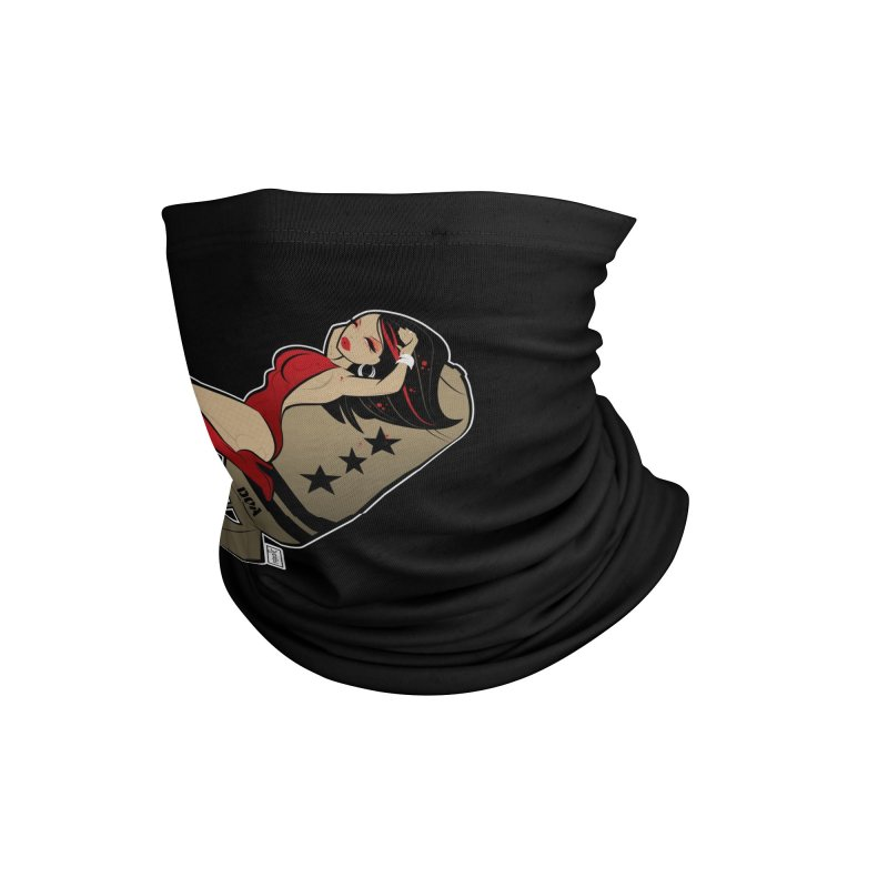 DOA Military Pinup Accessories Neck Gaiter by Dead Pop Hell Shop