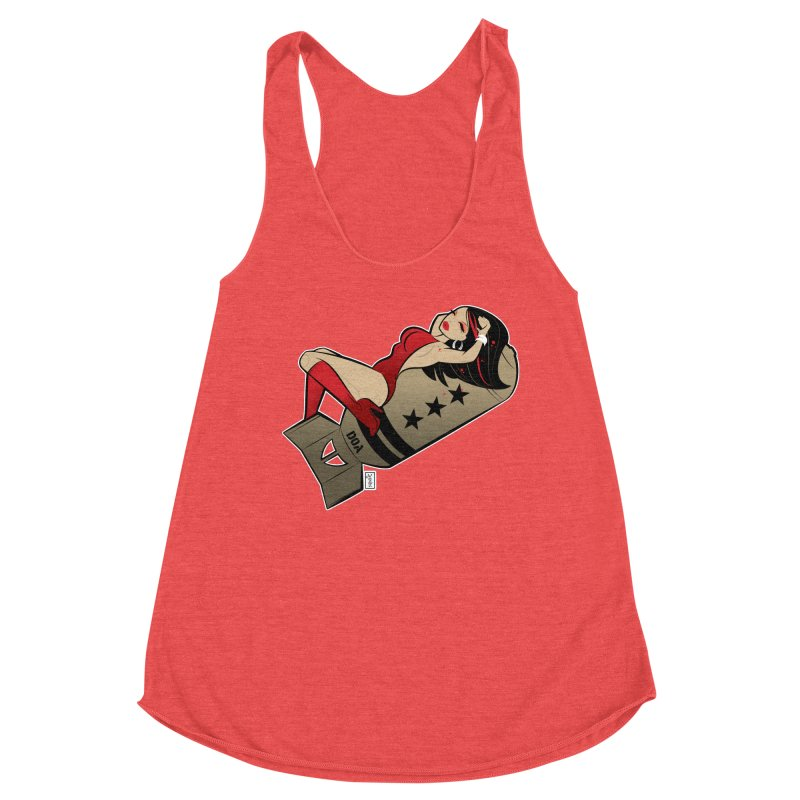 DOA Military Pinup Women's Tank by Dead Pop Hell Shop