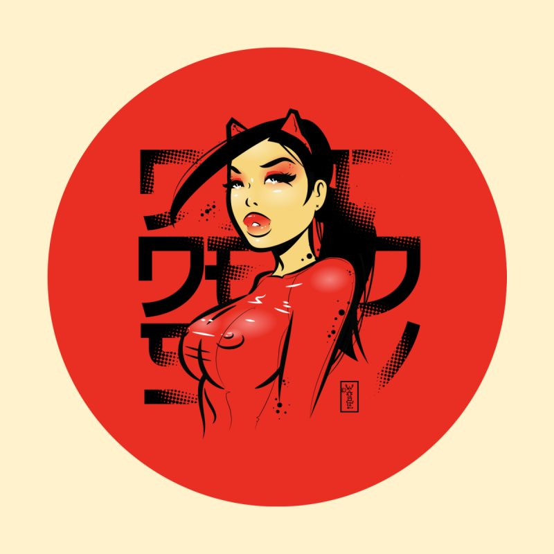 Red Killer Latex Accessories Sticker by Dead Pop Hell Shop