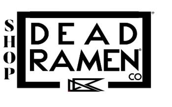 Shop | Dead Ramen® Logo