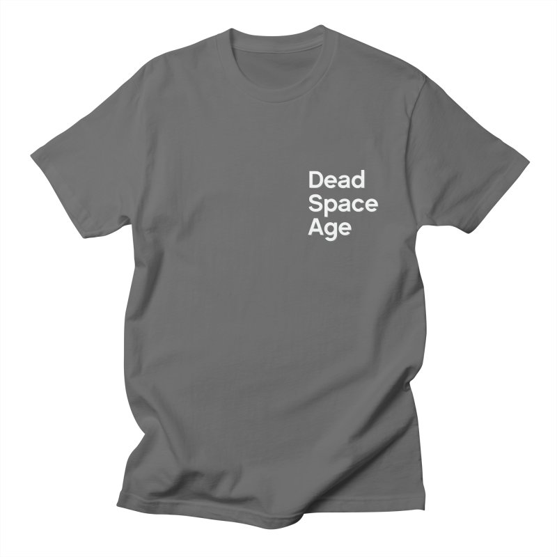 DSA Plain White Shadow Small Men's T-Shirt by Dead Space Age Merch Store