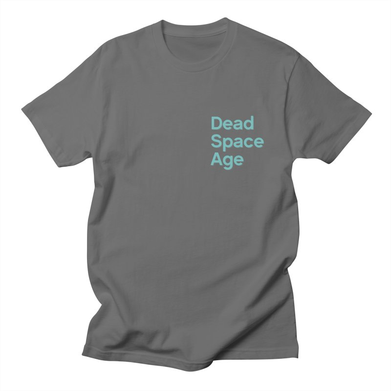 DSA Plain Teal Shadow Small Men's T-Shirt by Dead Space Age Merch Store