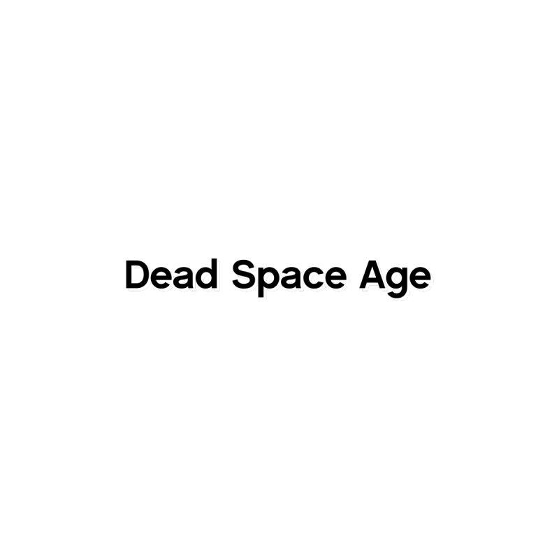 DSA Plain Black Shadow Horizontal Men's T-Shirt by Dead Space Age Merch Store