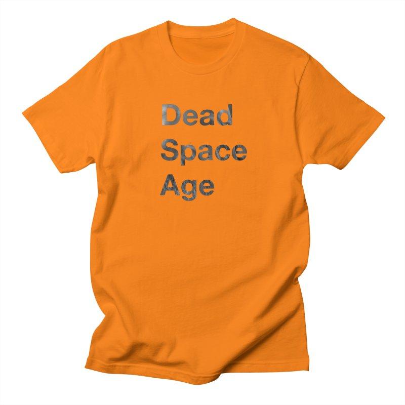 DSA Plain Fluid Large Centered Men's T-Shirt by Dead Space Age Merch Store
