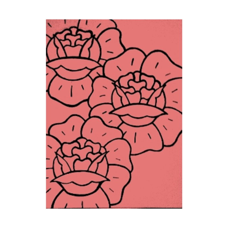 Pink Flowers by Curiosity's Shop