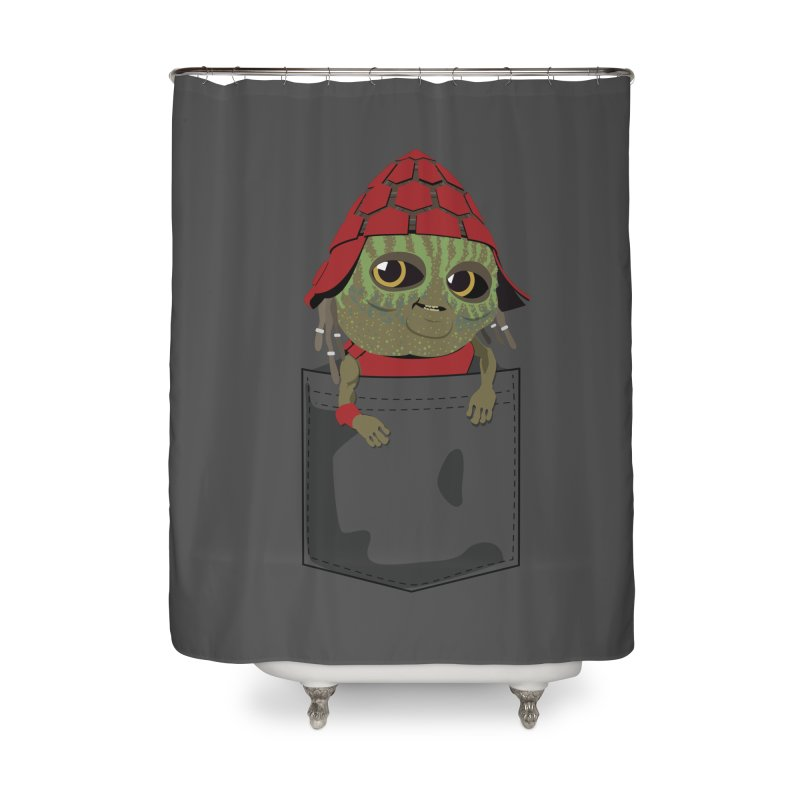 Pockey Pawny - Men In Black International Home Shower Curtain by Dean Cole Design