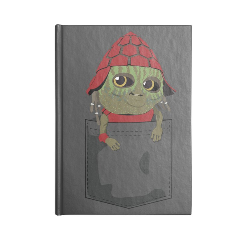 Pockey Pawny - Men In Black International Accessories Blank Journal Notebook by Dean Cole Design