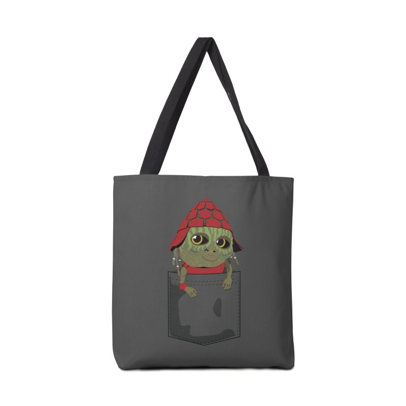 Pockey Pawny - Men In Black International Accessories Tote Bag Bag by Dean Cole Design