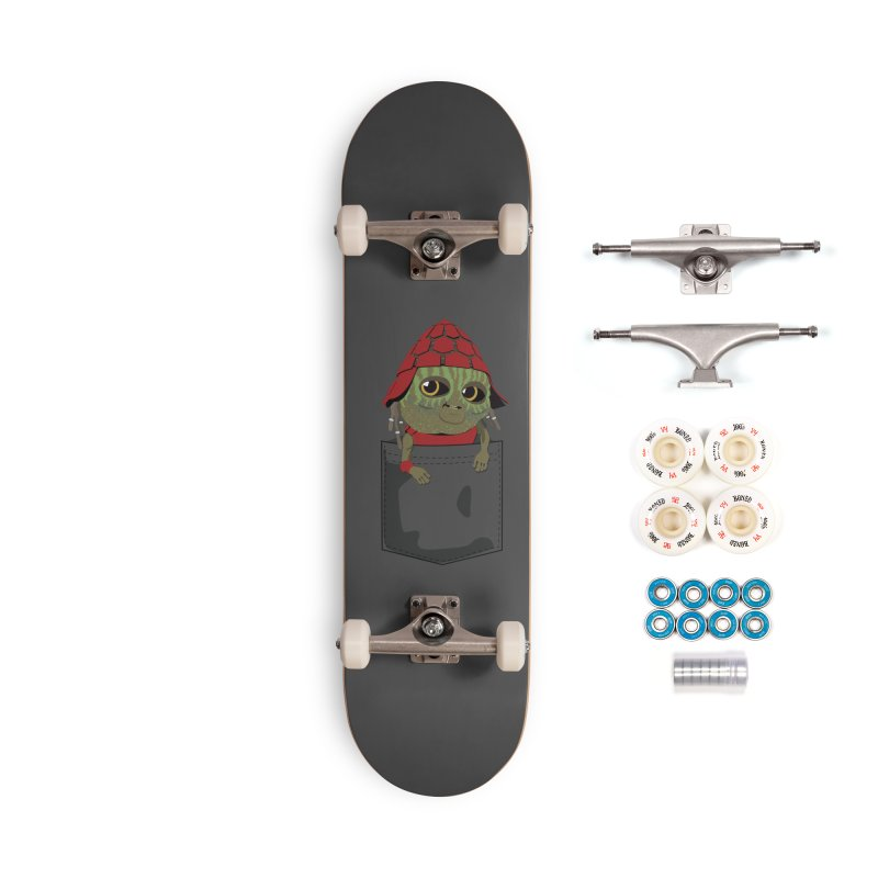 Pockey Pawny - Men In Black International Accessories Complete - Premium Skateboard by Dean Cole Design