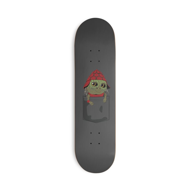 Pockey Pawny - Men In Black International Accessories Deck Only Skateboard by Dean Cole Design