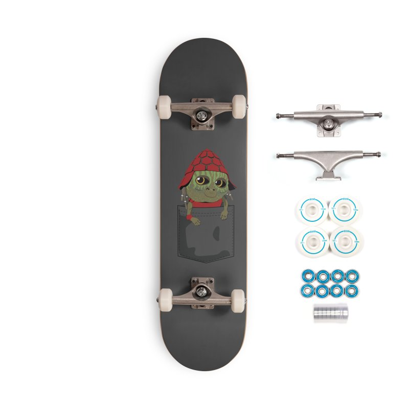 Pockey Pawny - Men In Black International Accessories Complete - Basic Skateboard by Dean Cole Design
