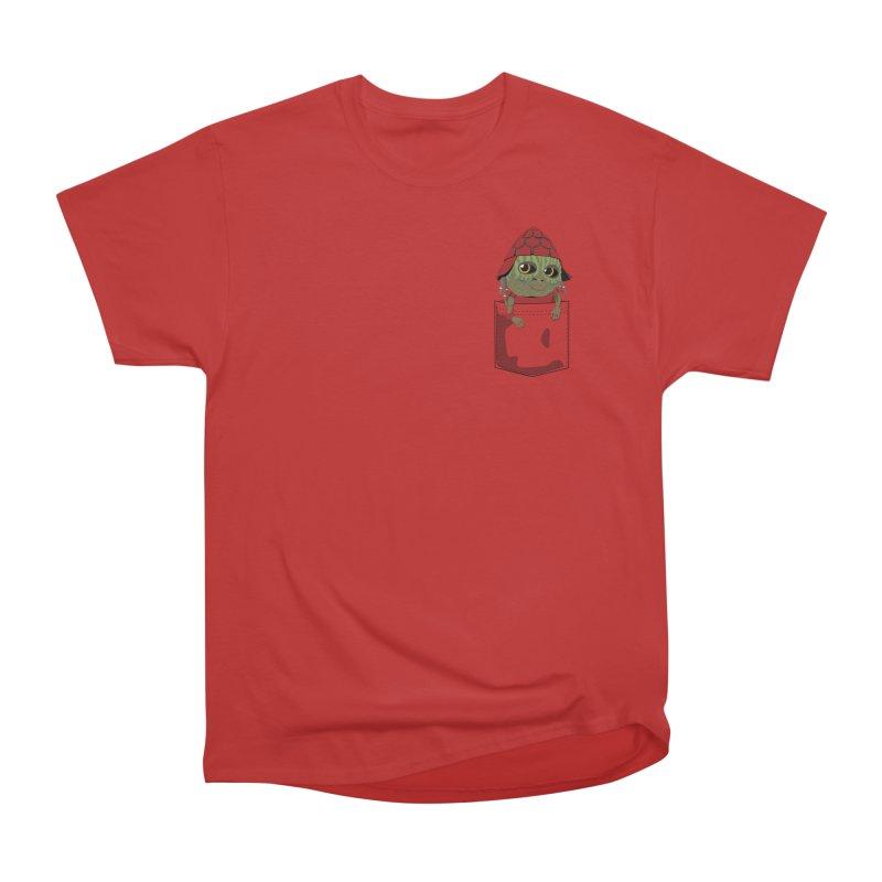 Pockey Pawny - Men In Black International Women's Heavyweight Unisex T-Shirt by Dean Cole Design