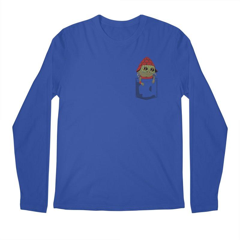 Pockey Pawny - Men In Black International Men's Regular Longsleeve T-Shirt by Dean Cole Design