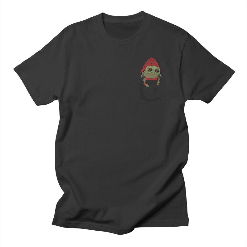 Pockey Pawny - Men In Black International Women's Regular Unisex T-Shirt by Dean Cole Design