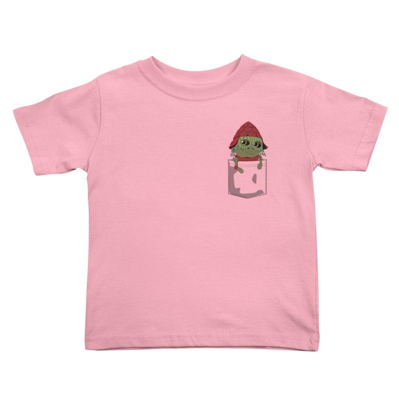 Pockey Pawny - Men In Black International Kids Toddler T-Shirt by Dean Cole Design