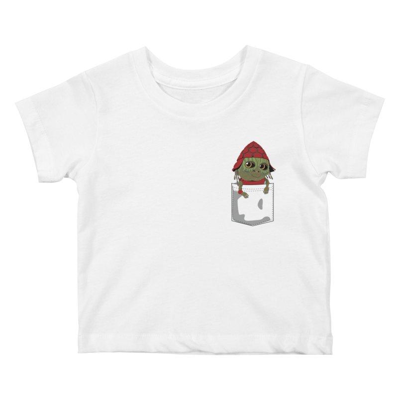 Pockey Pawny - Men In Black International Kids Baby T-Shirt by Dean Cole Design