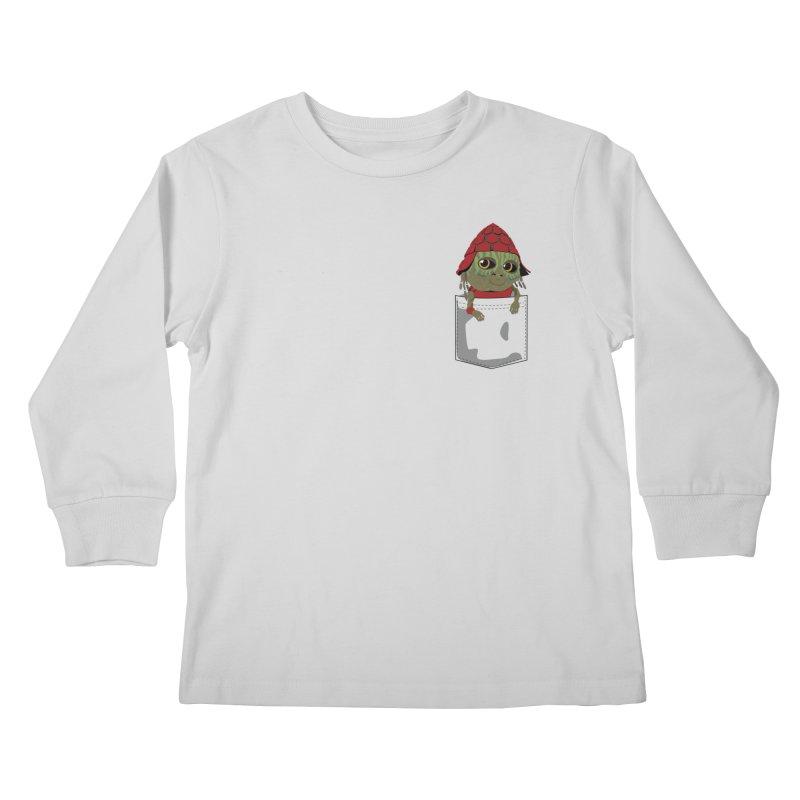 Pockey Pawny - Men In Black International Kids Longsleeve T-Shirt by Dean Cole Design