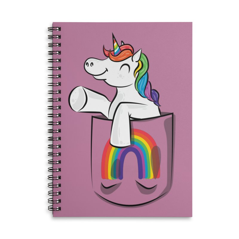 Pocket Unicorn Accessories Notebook by Dean Cole Design
