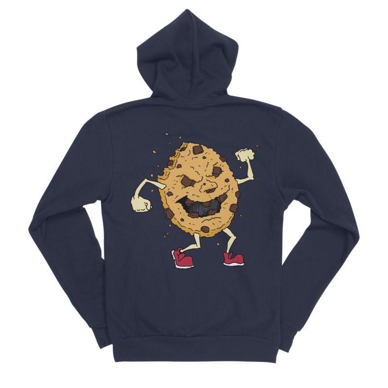 Fists Ahoy! Men's Sponge Fleece Zip-Up Hoody by Dean Cole Design