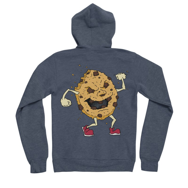 Fists Ahoy! Men's Zip-Up Hoody by Dean Cole Design