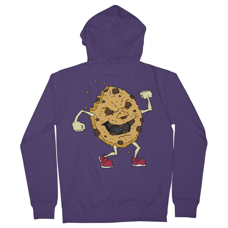 Fists Ahoy! Women's French Terry Zip-Up Hoody by Dean Cole Design