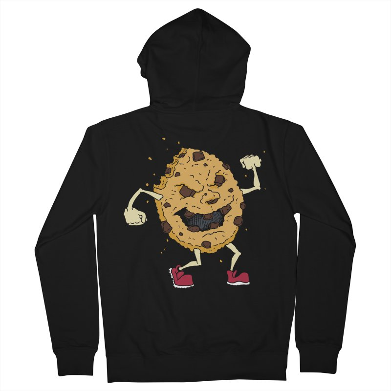 Fists Ahoy! Men's French Terry Zip-Up Hoody by Dean Cole Design
