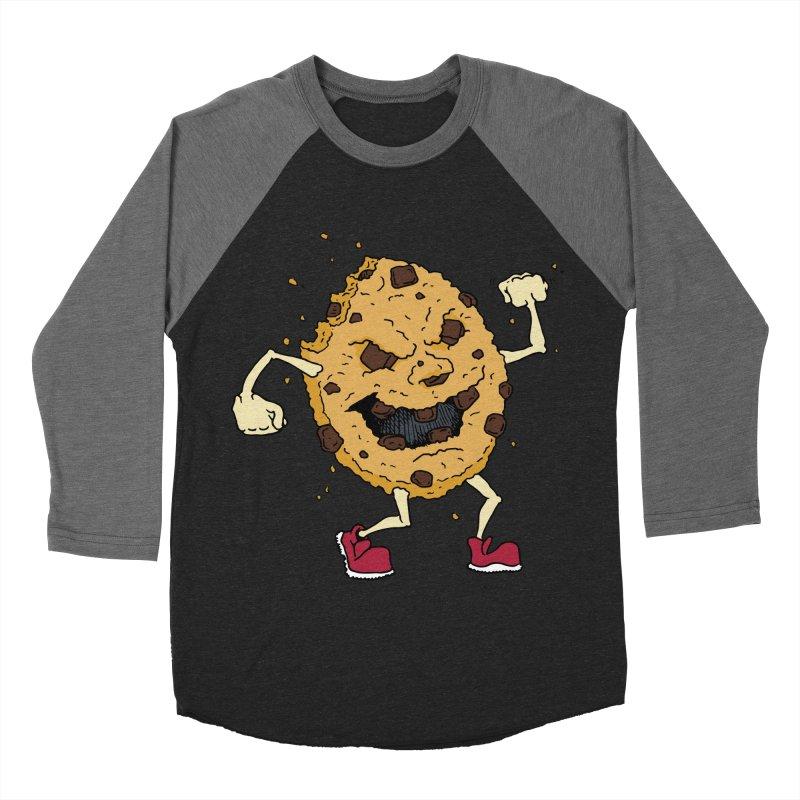 Fists Ahoy! Men's Baseball Triblend Longsleeve T-Shirt by Dean Cole Design