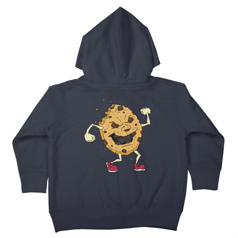 Fists Ahoy! Kids Toddler Zip-Up Hoody by Dean Cole Design