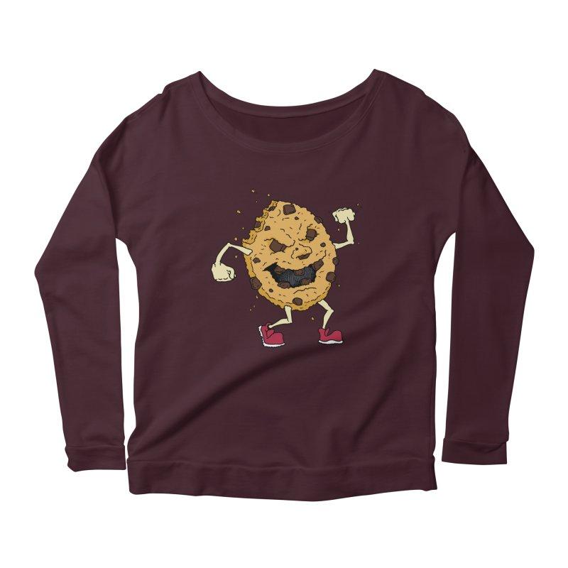 Fists Ahoy! Women's Scoop Neck Longsleeve T-Shirt by Dean Cole Design