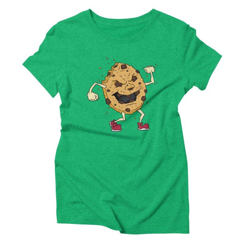 Fists Ahoy! Women's Triblend T-Shirt by Dean Cole Design