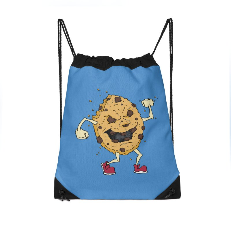 Fists Ahoy! Accessories Drawstring Bag Bag by Dean Cole Design