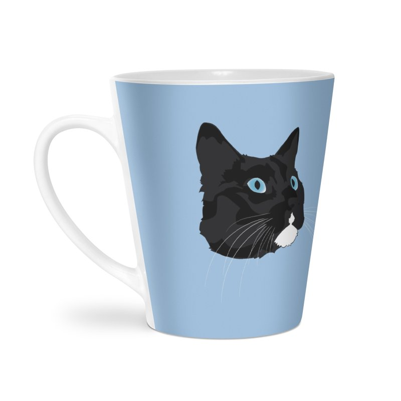 Black Cat Accessories Mug by Dean Cole Design
