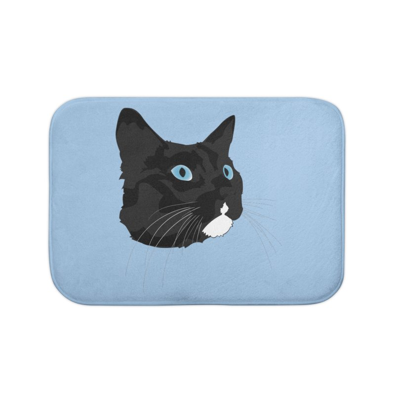 Black Cat Home Bath Mat by Dean Cole Design