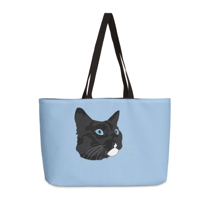 Black Cat Accessories Weekender Bag Bag by Dean Cole Design