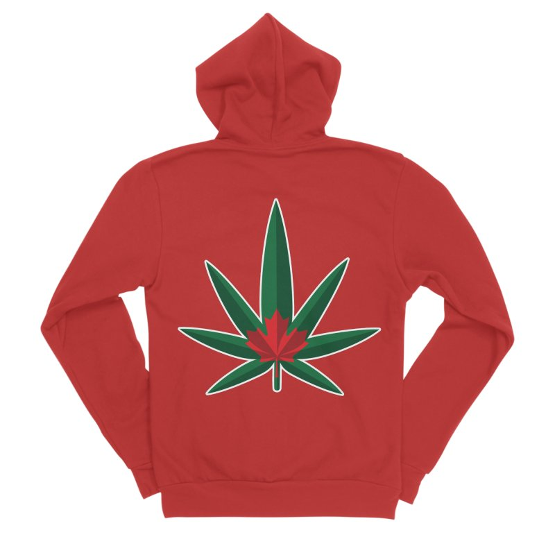 1017 is the new 420 Men's Zip-Up Hoody by Dean Cole Design