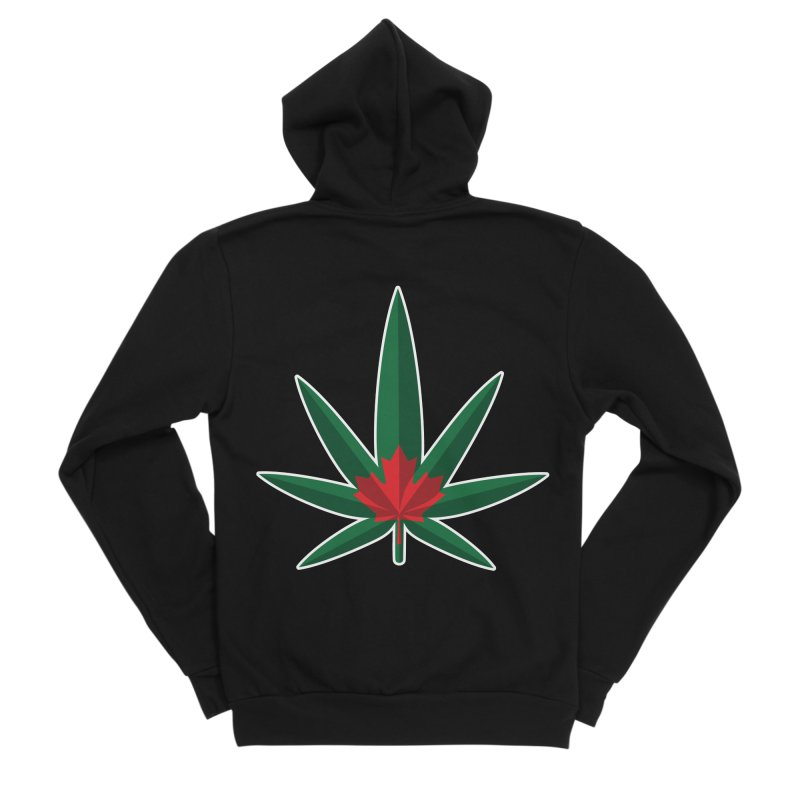 1017 is the new 420 Men's Sponge Fleece Zip-Up Hoody by Dean Cole Design