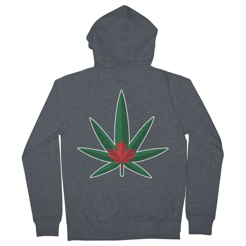 1017 is the new 420 Women's French Terry Zip-Up Hoody by Dean Cole Design
