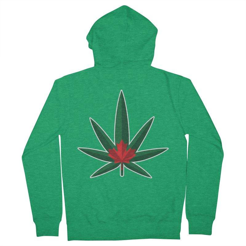 1017 is the new 420 Men's Zip-Up Hoody by Dean Cole Design