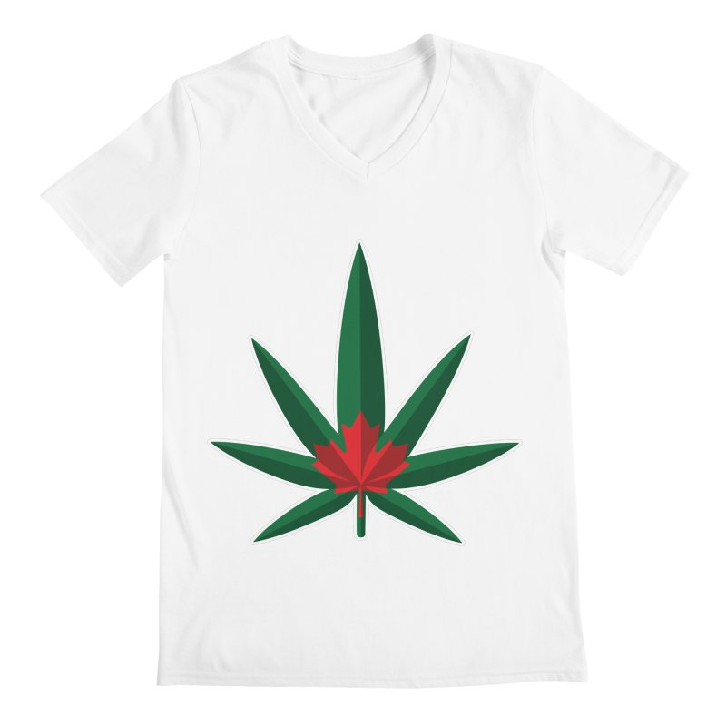 1017 is the new 420 Men's V-Neck by Dean Cole Design