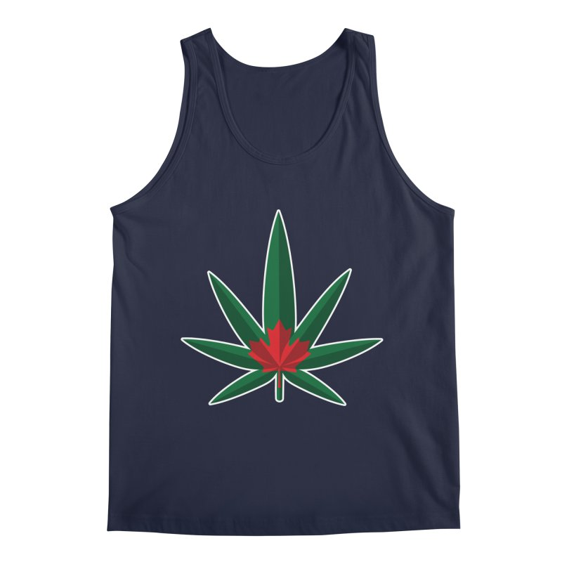 1017 is the new 420 Men's Regular Tank by Dean Cole Design
