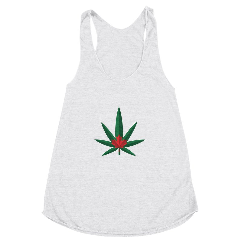 1017 is the new 420 Women's Racerback Triblend Tank by Dean Cole Design