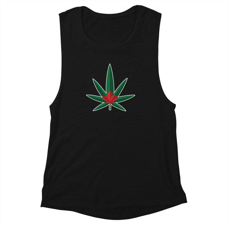 1017 is the new 420 Women's Muscle Tank by Dean Cole Design